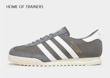 Adidas Original Beckenbauer Grau Weiß HERREN Turnschuhe Alle Größen