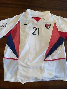 2002 World Cup Nike US Soccer Landon Donovan Jersey size XL