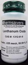 Lanthanum Oxide Powder 325 Mesh 9999 25g
