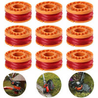 12-pack Replacement Spool Line For WORX WA0010 For Grass Trimmer Edger 10ft New