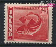 Iceland 216B dentate 14:13 1/2 with hinge 1940 Islandmotive (8883114
