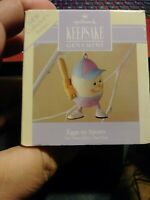 Hallmark Keepsake Easter Spring Ornament 1992 Eggs In Sports Baseball Collection