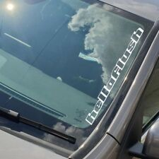 Hellaflush - Window Sticker 58cm Any Colour Vinyl Decal - BUMP169