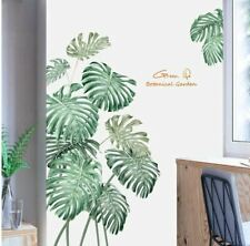 Wall stickers Tropical Leaves Botanical Green Living Room Decal Art Nursery Remo