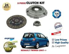 FOR RENAULT TWINGO 1.2 16V D7F800 D4F722 D4F772 2007-> NEW CLUTCH KIT 3 PIECE