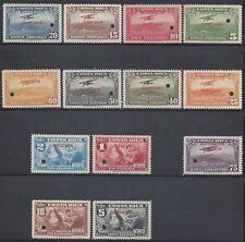 COSTA RICA (G840a) MAIL PLANE,ALLEGORY of FLIGHT,MENA SA15-27 SPECIMEN  MNH 1934