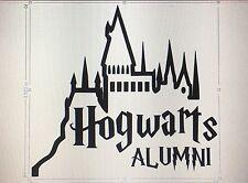 Hogwarts Alumni Decal Sticker Harry Potter Car Laptop Tablet 5 Inch