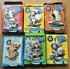 Dr. Seuss The Cat In The Hat Silver Plated Classic Ornaments - Set of 6