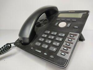 Snom D712 Telefono IP Cornetta Cablata 4 Linee Nero come Nuovo Solo Testato