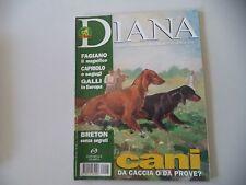 RIVISTA DIANA LA NATURA LA CACCIA - N° 5 - 7 MARZO 1996