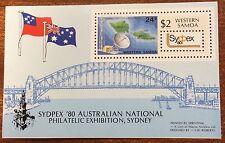 1980 Samoa sydpex mini  sheet MUH