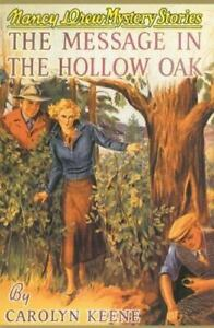 Nancy Drew #12 Applewood edition The Message in the Hollow Oak  first edition