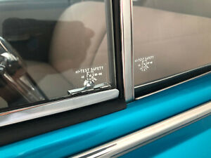 Buick 1948 Window Sticker Glass GM Cadillac Pontiac 49 original style x 10 piece