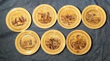 Lafayette Legacy Collection D'Arceau-Limoges Complete Set of 7 Collector Plates
