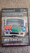 Densha De Go! 3 Let's Go By Train! 3 Playstation 2 PS2 Japan Import US Seller