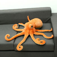 80CM Big Funny Cute Octopus Squid Stuffed Animal Soft Plush Toy KIds Doll Pillow