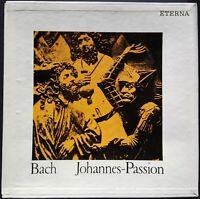 Bach - Johannes-Passion, RAMIN, GIEBEL, HÖFFGEN, HAEFLIGER, Eterna, 3 LP MONO