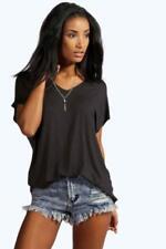Maglie e camicie da donna neri con Scollo a V Taglia 44