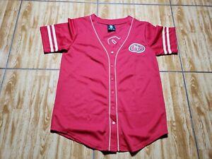 Vintage San Francisco 49ers Short Sleeve Football Shirt Adult Medium Red Mens