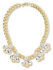 Banana Republic Chain Reaction Petal Glamour Necklace NWT $129.50 STATEMENT PIEC