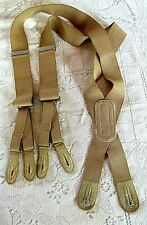 """Antique Early 1900's Men'S Suspenders,""""Bull 9;S Eye"""",""""Everard & Co.,Manchester"""""""