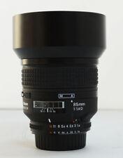 Nikon Nikkor 85mm f/1.4 D IF Lens  85.4D
