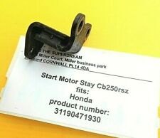 HONDA CB250RS RSZ DELUXE - ORIGINAL FIT STARTER MOTOR STAY / RUBBER BUSH BRACKET