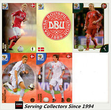 2010 Panini South Africa World Cup Soccer Cards Team Set Danmark (5)