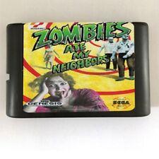 Zombies Ate My Neighbors 16-Bit Fits Sega Genesis Mega Drive Game