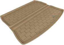 All Weather Cargo Area Liner For 06-13 Audi A3 Quattro A3 Tan Rubber