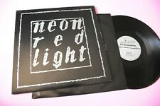 NEON LP RED LIGHT ORIG ITALY 1986 NM !!!!!!!!!!!!!!!!!!!!!!