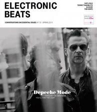 ELECTRONIC BEATS #33 2013 GERMAN MUSIC MAGAZINE cover DEPECHE MODE