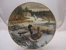 Living Nature Bart Jerners Ducks- Knowles Collector's Plate The Mallard
