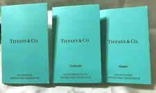 Tiffany & Co 3 Samples  EDP, Intense, and Sheer 1 of Each    FREE GIFT    SAMPLE