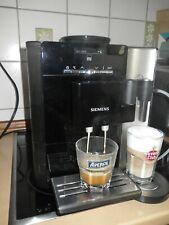 Siemens EQ7 extraKlasse blackSteel TK76F09 stylisch  KVA Kaffeevollautomat