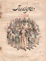 1889 Judge October 19-Judges bribed-judicial corruption;Democratic Party Split