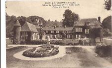 ouilly-le-vicomte chateau de boutemont   façade coté piscine calvados