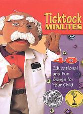 Ticktock Minutes (DVD, 2003) 40 Songs Parents Choice Award Emmy Winner NEW