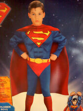 NEW!  SUPERMAN MUSCLE COSTUME BOYS Medium 8