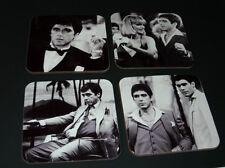 Al Pacino Scarface BW COASTER Set