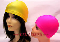 SATIN SPANDEX DOME CAP  BIKERS HAT  SPORTS  OUTDOOR --MK5010