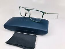 1f21c285c96 New Cole Haan CH4021 407 Atlantic Deep (Green) Eyeglasses 54mm with Case    Cloth