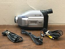 Panasonic Palmcorder Camcorder VHS-C 700x Digital Zoom PV-L353D