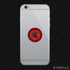God Will Judge Our Enemies We'll Arrange The Meeting Cell Phone Sticker v6d