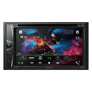 """Pioneer AVHG225BT Double DIN USB AUX Bluetooth CD/DVD Receiver with 6.2"""" Display"""