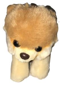 "GUND Stuffed Animal Cutest Dog Itty Bitty Boo #15 Backpack Clip Plush 5"" 4040477"