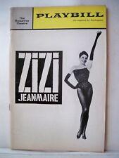 ZIZI Playbill ZIZI JEANMAIRE / ROLAND PETIT / YVES SAINT-LAURENT Opening 1964