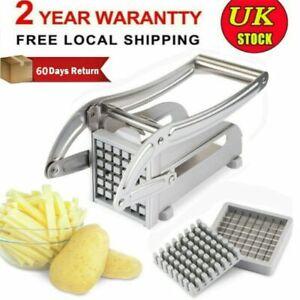 Commercial Potato l/'outil Slicer French Fries Cutter Machine Potato Chipper Chopper UK