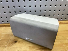 Bose Center Channel Speaker (Horizontal) Double Cube White Acoustimass/Lifestyle