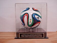 Soccer Ball Display Case With A USA 2015 Women's World Cup Engraved Nameplate